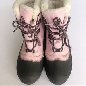 Columbia Cascadian Trinity Snow boots pink & Grey